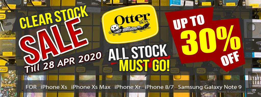 Clear Stock Sale Otterbox