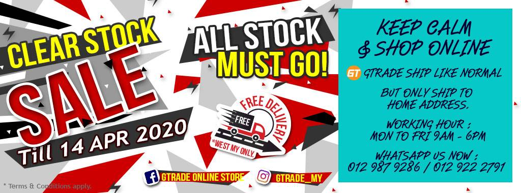 Clear Stock Sale