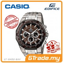 CASIO EDIFICE EF-540D-5AV Chronograph Watch | Tachymeter Ion-Plated [PRE]