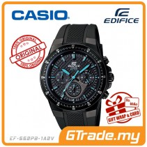 CASIO EDIFICE EF-552PB-1A2V Chronograph Watch | Carbon Fiber WR100m