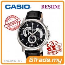CASIO BESIDE BEM-507BL-1AV Chronograph Watch | Retro Day Date Disp. [PRE]