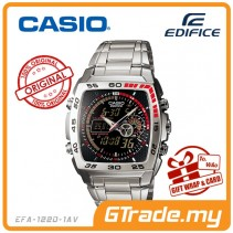 CASIO EDIFICE EFA-122D-1AV Analog Digital Watch | World Time WR100m