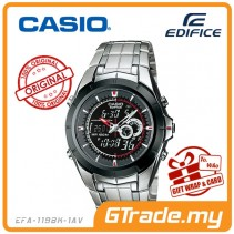CASIO EDIFICE EFA-119BK-1AV Analog Digital Watch | World Time WR100m