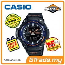 [READY STOCK] CASIO OUTGEAR SGW-450H-2BV Sports Hiking Gear Watch | Alti.Baro.meter