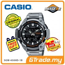 CASIO OUTGEAR SGW-450HD-1BV Sports Hiking Gear Watch Alti.Baro.meter