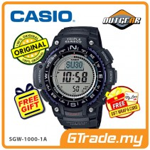 CASIO OUTGEAR SGW-1000-1A Sports Watch | Alti Baro Thermo Sensor