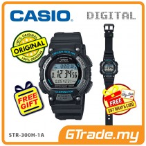 CASIO SPORTS STL-S300H-1A Kids Ladies Digital Watch | Running Track