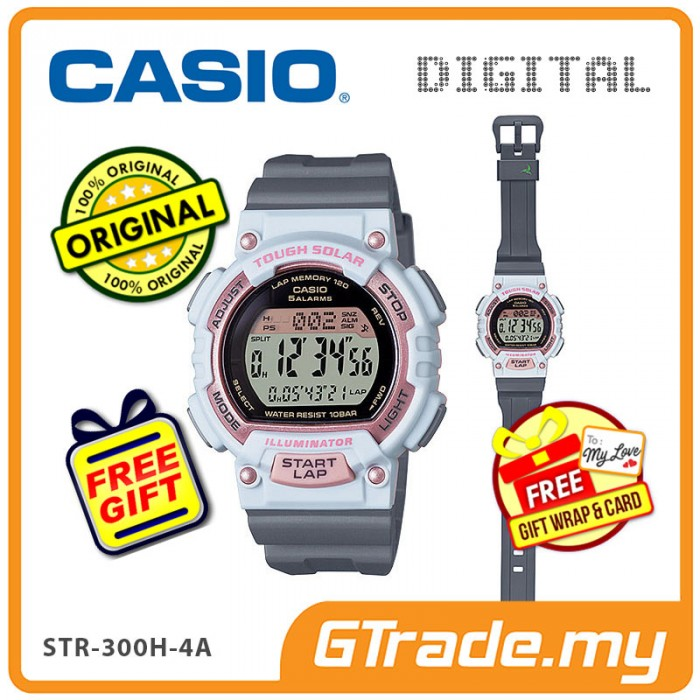CASIO SPORTS STL-S300H-4A Kids Ladies Digital Watch