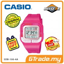 CASIO STANDARD SDB-100-4A Digital Watch | Sporty Look 10 Years Batt. [PRE]