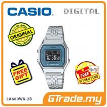 [READY STOCK] CASIO STANDARD LA680WA-2B Digital Ladies Watch | Retro New Color Alarm