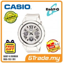 CASIO BABY-G BGA-152-7B1 Analog Digital Watch | Metal Roman Numerals