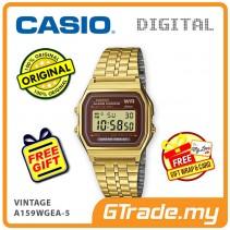 CASIO STANDARD A159WGEA-5 Digital Watch | Vintage Alarm Auto Calendar [PRE]