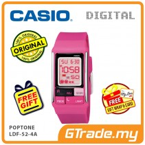 CASIO POPTONE LDF-52-4A Kids / Ladies Digital Watch | Cute Color
