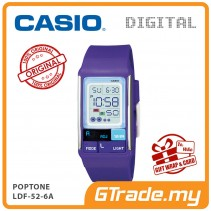 CASIO POPTONE LDF-52-6A Kids / Ladies Digital Watch | Cute Color [PRE]