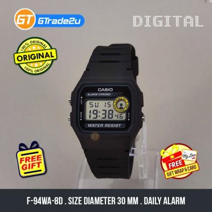[READY STOCK] CASIO VINTAGE F-94WA-8D Digital Watch | Square Face 7 Yrs Batt.