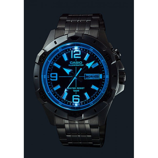 Casio Analog Mtd 1082d 2av Mens Watch Super Illuminator