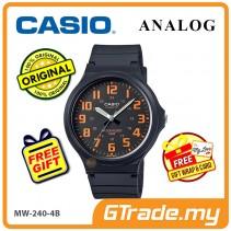 CASIO ANALOG MW-240-4BV Mens Watch | Large Case 50m Resist