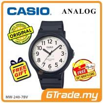CASIO ANALOG MW-240-7BV Mens Watch | Large Case 50m Resist