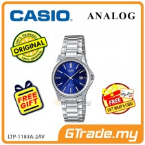 [READY STOCK] CASIO CLASSIC ANALOG LTP-1183A-2AV Ladies Watch | Date Display Steel