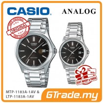 [READY STOCK] CASIO ANALOG MTP-1183A-1AV & LTP-1183A-1AV Analog Couple Watch