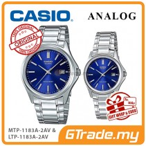 [READY STOCK] CASIO ANALOG MTP-1183A-2AV & LTP-1183A-2AV Analog Couple Watch