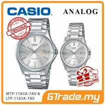 [READY STOCK] CASIO ANALOG MTP-1183A-7AV & LTP-1183A-7AV Analog Couple Watch