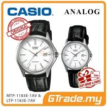 CASIO ANALOG MTP-1183E-7AV & LTP-1183E-7AV Analog Couple Watch [PRE]