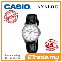CASIO CLASSIC ANALOG LTP-1183E-7AV Ladies Watch | Date Display Leather [PRE]