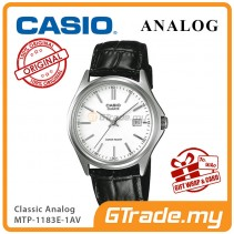 CASIO CLASSIC ANALOG MTP-1183E-7AV Men Watch | Date Display Leather [PRE]