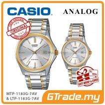 CASIO ANALOG MTP-1183G-7AV & LTP-1183G-7AV Analog Couple Watch [PRE]