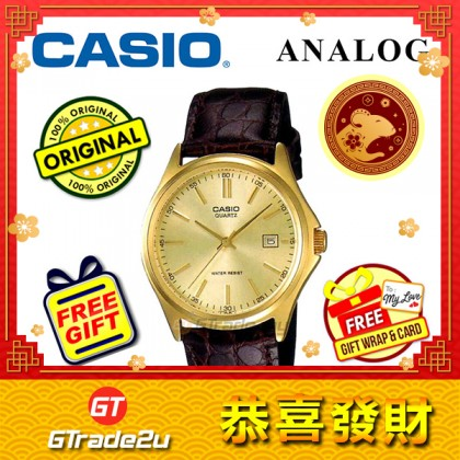 [READY STOCK] CASIO CLASSIC ANALOG MTP-1183Q-9AV Men Watch | Date Display Leather