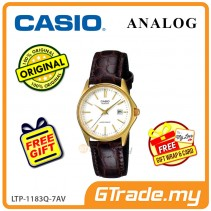 [READY STOCK] CASIO CLASSIC ANALOG LTP-1183Q-7AV Ladies Watch | Date Display Leather