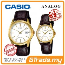 [READY STOCK] CASIO ANALOG MTP-1183Q-7AV & LTP-1183Q-7AV Analog Couple Watch