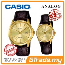[READY STOCK] CASIO ANALOG MTP-1183Q-9AV & LTP-1183Q-9AV Analog Couple Watch