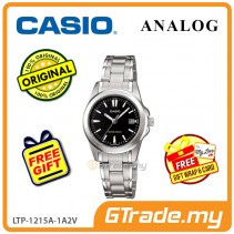 [READY STOCK] CASIO CLASSIC ANALOG LTP-1215A-1A2V Ladies Watch | Steel Date Display