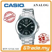 CASIO CLASSIC ANALOG MTP-1215A-1AV Men Watch | Steel Date Display