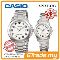 [READY STOCK] CASIO ANALOG MTP-1215A-7B2V & LTP-1215A-7B2V Analog Couple Watch