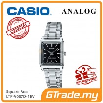 CASIO ANALOG LTP-V007D-1EV Ladies Watch | Square Face Steel Band [PRE]