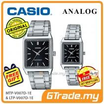 CASIO ANALOG MTP-V007D-1EV & LTP-V007D-1EV Analog Couple Watch [PRE]