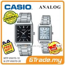 CASIO ANALOG MTP-V007D-1EV & LTP-V007D-2EV Analog Couple Watch [PRE]