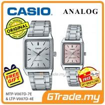 CASIO ANALOG MTP-V007D-7EV & LTP-V007D-4EV Analog Couple Watch [PRE]