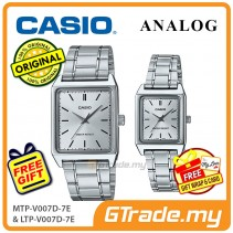 CASIO ANALOG MTP-V007D-7EV & LTP-V007D-7EV Analog Couple Watch [PRE]