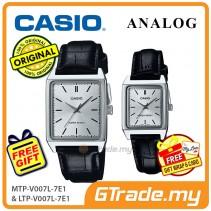 CASIO ANALOG MTP-V007L-7E1V & LTP-V007L-7E1V Analog Couple Watch [PRE]