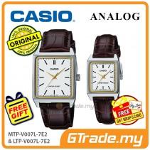 CASIO ANALOG MTP-V007L-7E2V & LTP-V007L-7E2V Analog Couple Watch [PRE]