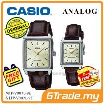 CASIO ANALOG MTP-V007L-9EV & LTP-V007L-9EV Analog Couple Watch [PRE]