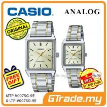 CASIO ANALOG MTP-V007SG-9EV & LTP-V007SG-9EV Analog Couple Watch [PRE]