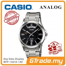 CASIO ANALOG MTP-1381D-1AV Men Watch | Day Date 50 Meter Water Resist [PRE]