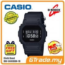 [READY STOCK] CASIO G-SHOCK DW-5600BBN-1D Digital Watch | Matte Black Cordura Band