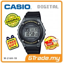 CASIO DIGITAL W-216H-1BV Watch | Alarm 50 Meter Water Resist [PRE]