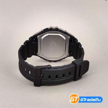 Casio Standard Men W-216H-1C W216H-1C Digital Watch Blue Black Resin Band watch for man . jam tangan lelaki . casio watch for men . casio watch . men watch . watch for men [READY STOCK]